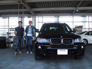 BMW X5 本日ご納車!