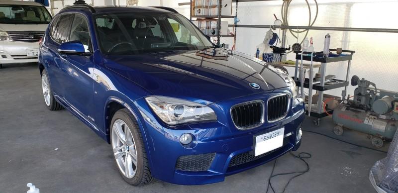 BMW X1 E84 アンドロイドナビ取付